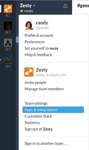 Click the team name